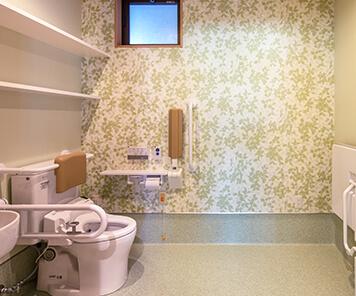 充実の設備 トイレ